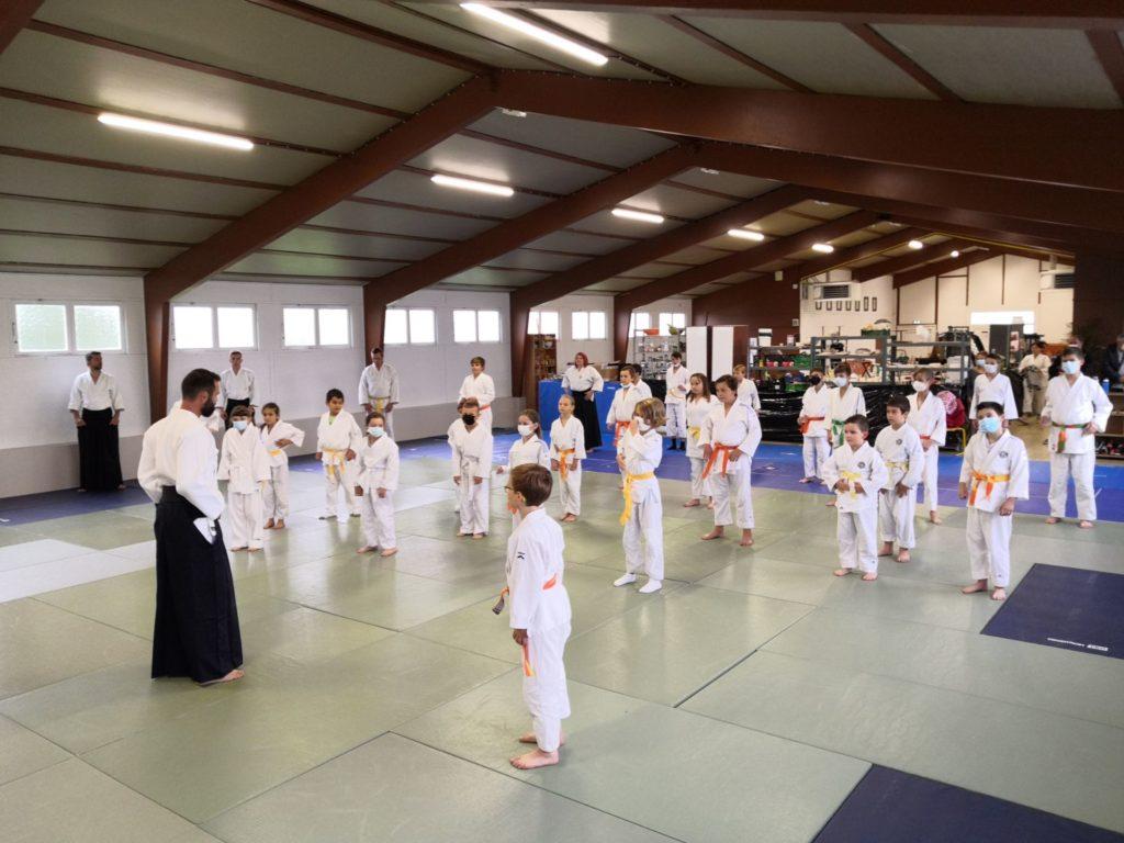 Aïkido enfants : en route vers le concours !